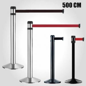 Retractable belt barrier - 500cm