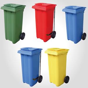 歐洲進口垃圾子車 / 托桶