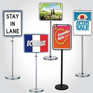 Basic Poster Stand-Basic Type