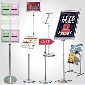Poster Stand-Functional Type