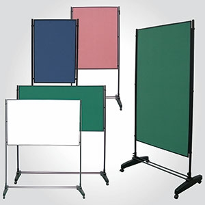Double Side Movable Whiteboard