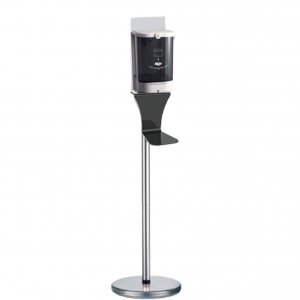 Motion Activated Soap Dispenser Stand (Silver)