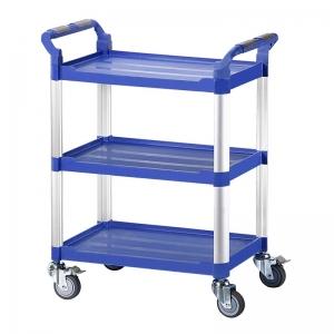 三層工作推車-藍色標準型