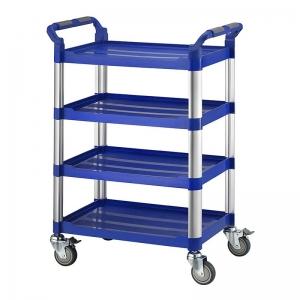 四層工作推車-藍色標準型