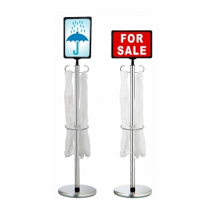 Dual-function Umbrella Polybag Stand