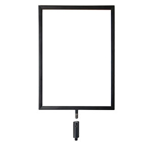 Vertical A4 sign holder